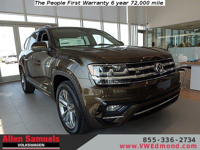 New 2019 Volkswagen Atlas 3.6L V6 SEL R-Line 4MOTION