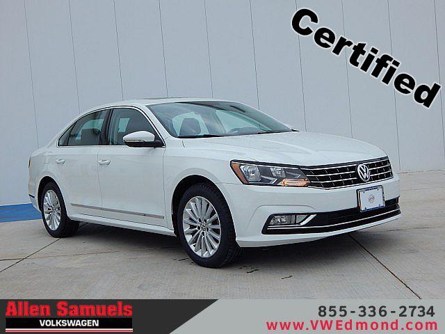 Certified Pre-Owned 2016 Volkswagen Passat 4dr Sdn 1.8T Auto SE w/Technology