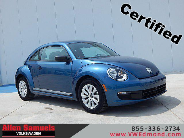 Certified Pre-Owned 2016 Volkswagen Beetle 2dr Auto 1.8T S PZEV