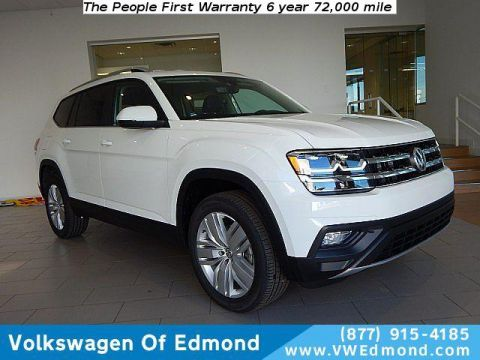 New 2019 Volkswagen Atlas 3.6L V6 SE w/Technology 4MOTION
