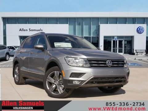 New 2020 Volkswagen Tiguan 2.0T SEL 4Motion With Navigation & AWD