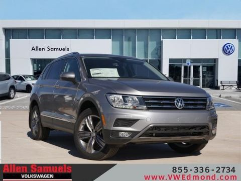 New 2020 Volkswagen Tiguan 2.0T SEL With Navigation