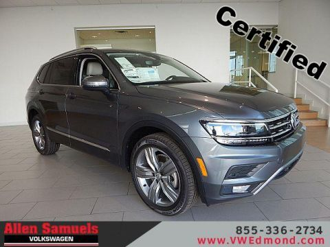 Certified Pre-Owned 2019 Volkswagen Tiguan 2.0T SEL Premium 4MOTION
