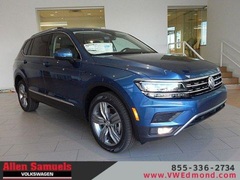 New 2019 Volkswagen Tiguan 2.0T SEL 4Motion With Navigation & AWD