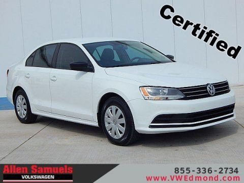 Certified Pre-Owned 2015 Volkswagen Jetta 4dr Auto 2.0L S