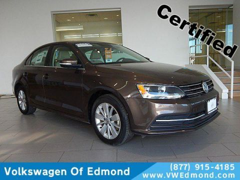 Certified Pre-Owned 2015 Volkswagen Jetta 4dr Man 2.0L TDI SE w/Connectivity