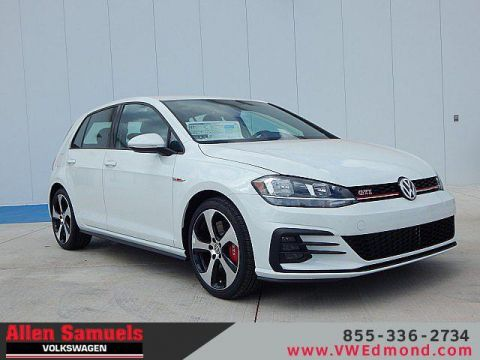 New 2019 Volkswagen Golf GTI 2.0T S Manual FWD 4dr Car