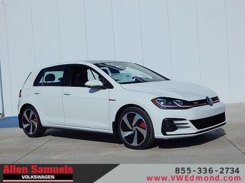 New 2019 Volkswagen Golf GTI 2.0T SE DSG FWD 4dr Car