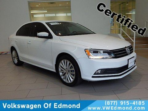 Certified Pre-Owned 2015 Volkswagen Jetta 4dr Auto 1.8T SE w/Connectivity/Nav