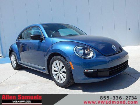 Pre-Owned 2016 Volkswagen Beetle 2dr Auto 1.8T S