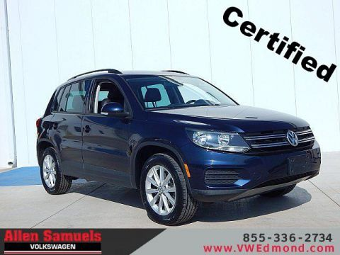 Certified Pre-Owned 2015 Volkswagen Tiguan 2WD 4dr Auto SE