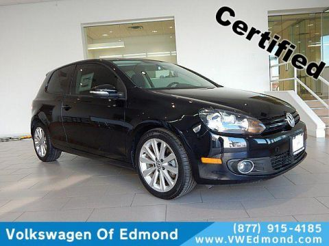 Certified Pre-Owned 2013 Volkswagen Golf 2dr HB DSG TDI w/Sunroof & Nav *Ltd
