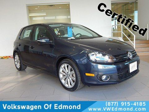 Certified Pre-Owned 2012 Volkswagen Golf 4dr HB DSG TDI