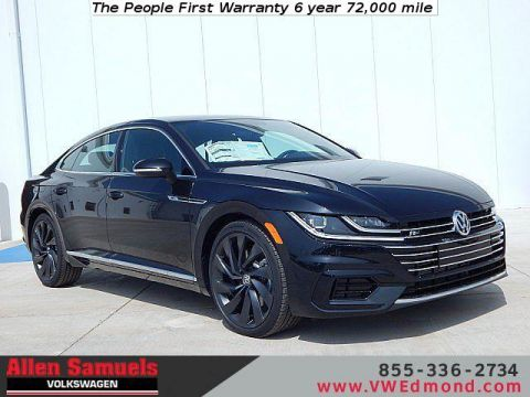 New 2019 Volkswagen Arteon SEL R-Line 4MOTION w/20 Wheels